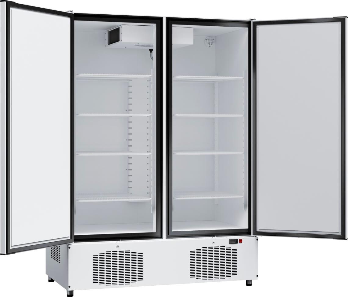 Морозильный шкаф ABATШХн-1,4-02краш. (нижнийагрегат) - 1