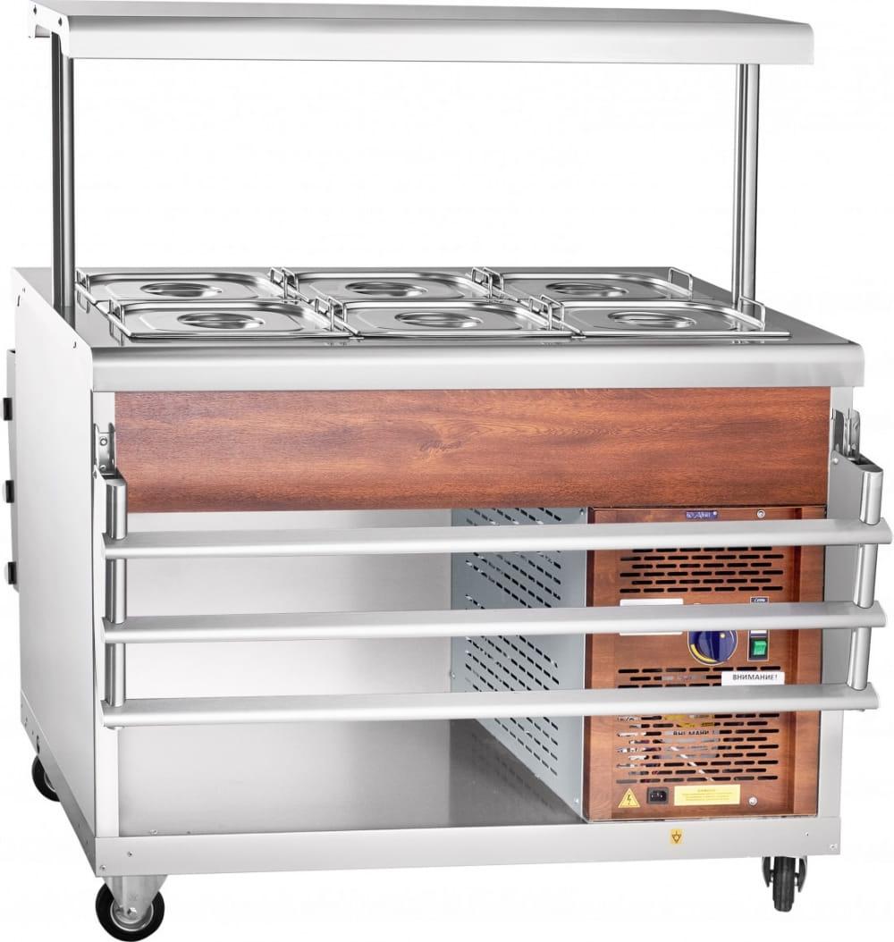 Холодильный прилавок ABAT ПВВ(Н)-70ПМ-НШ - 6