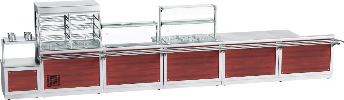 Прилавок для столовых приборов ABAT ПСП-70Х - 6