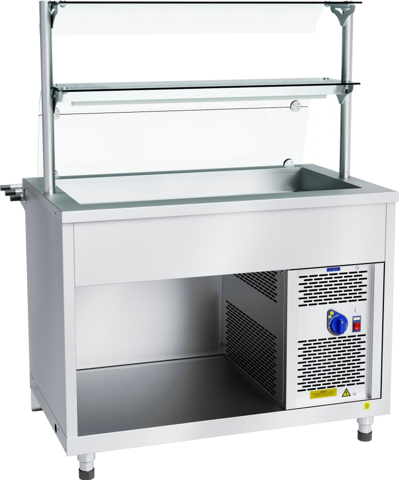Холодильный прилавок ABAT ПВВ(Н)-70Х-02-НШ - 2
