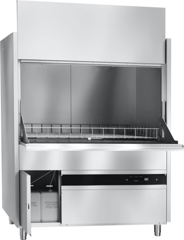 Котломоечная машина ABAT МПК 130-65 с комплектом держателей - 1