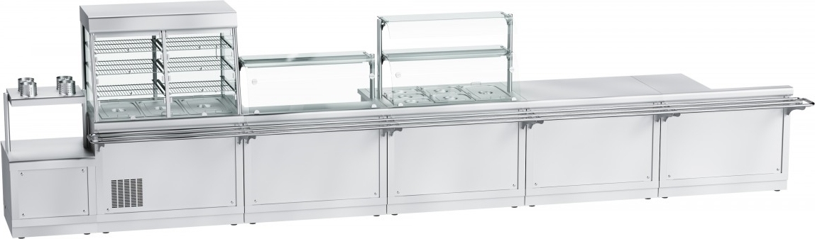 Прилавок для столовых приборов ABAT ПСПХ-70Х - 3