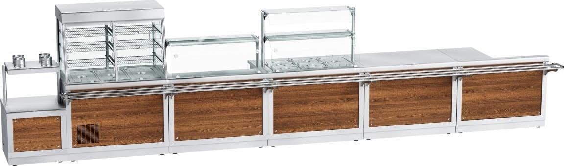 Прилавок для столовых приборов ABAT ПСПХ-70Х - 6