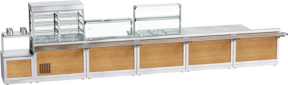 Прилавок для столовых приборов ABAT ПСПХ-70Х - 8