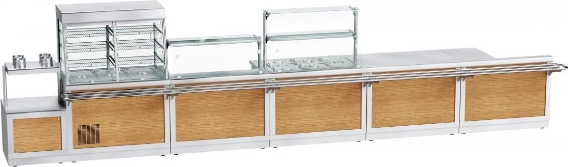 Прилавок для подогрева тарелок ABAT ПТЭ-70Х-80 - 11