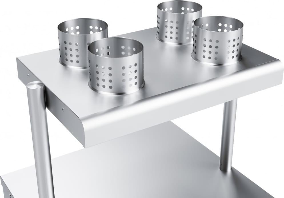 Прилавок для столовых приборов ABAT ПСП-70Х - 3