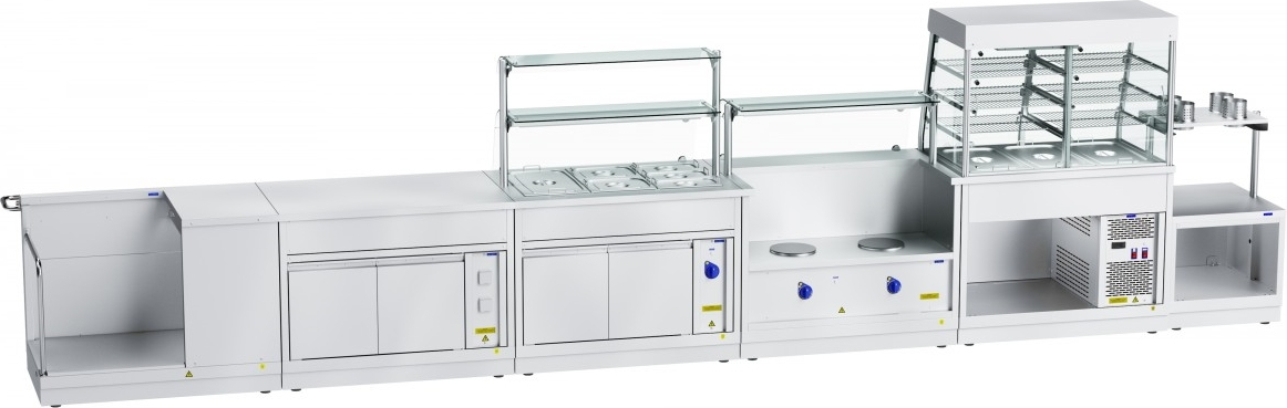 Прилавок для столовых приборов ABAT ПСП-70Х - 5