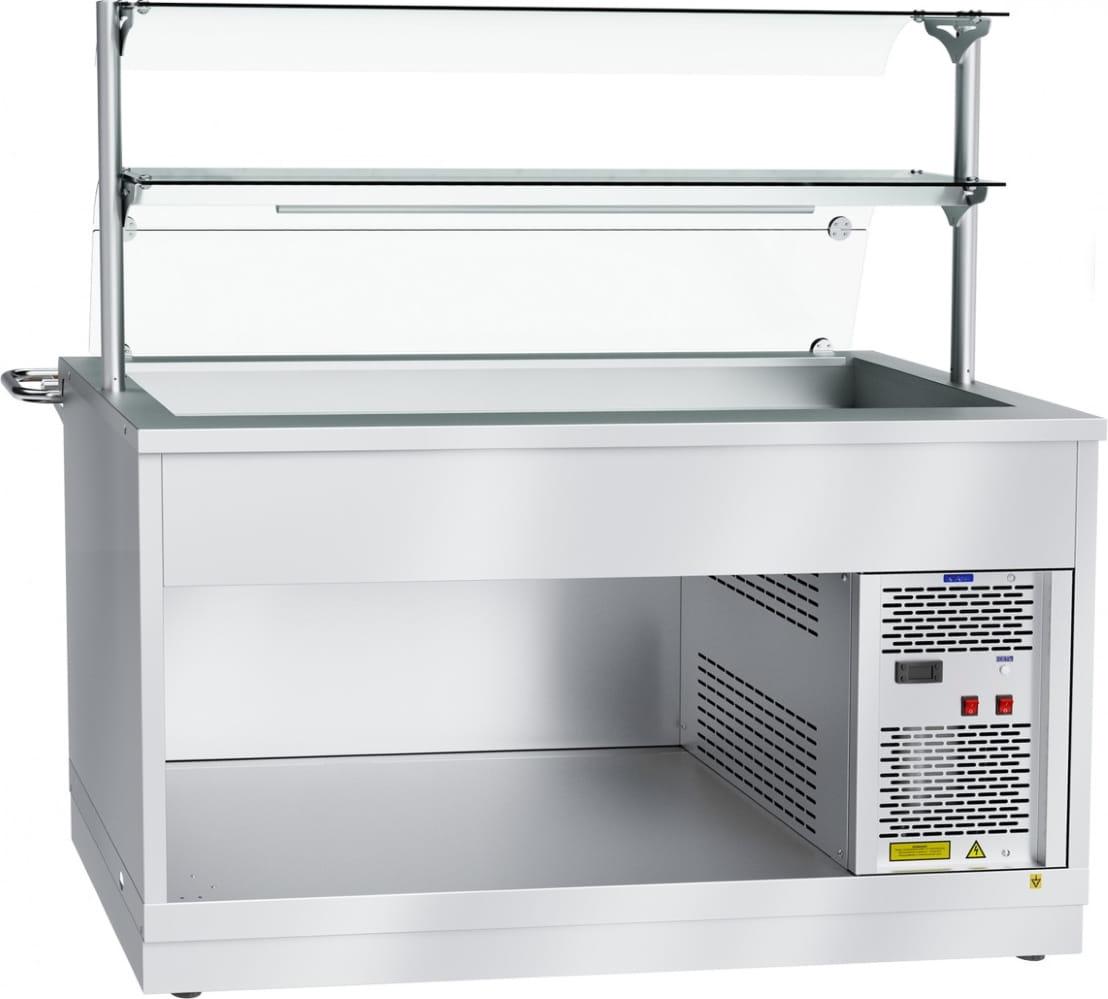 Холодильный прилавок ABAT ПВВ(Н)-70Х-03-НШ - 2
