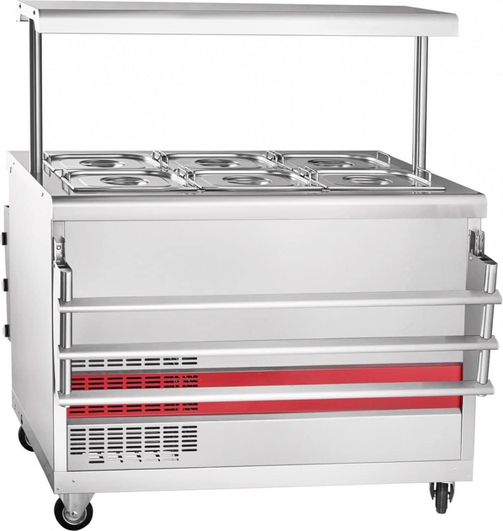 Холодильный прилавок ABAT ПВВ(Н)-70ПМ-НШ - 1