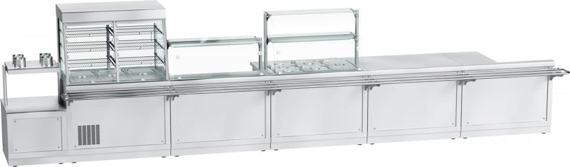 Холодильная витрина‑прилавок ABAT ПВВ(Н)-70Х-С-НШ - 4