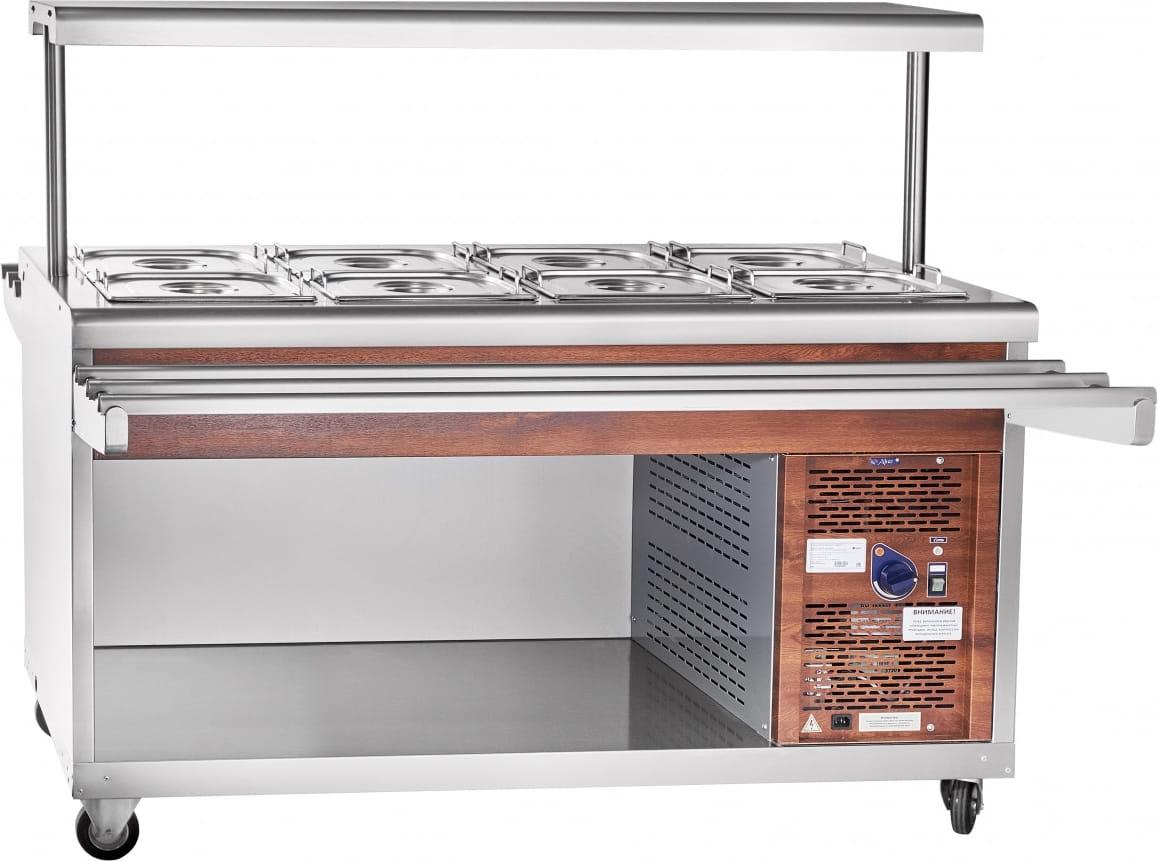 Холодильный прилавок ABAT ПВВ(Н)-70ПМ-01-НШ - 4