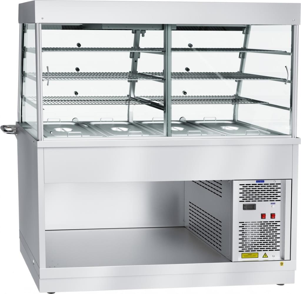 Холодильная витрина‑прилавок ABAT ПВВ(Н)-70Х-С-01-НШ - 1