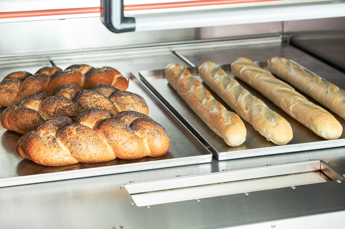Подовый пекарский шкаф ABAT ЭШП-3-01 (320 °C) - 3