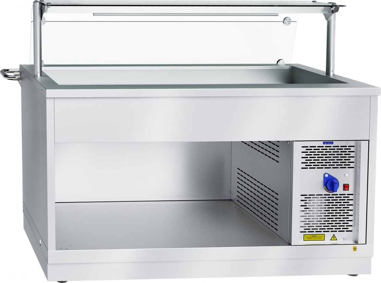Холодильный прилавок ABAT ПВВ(Н)-70Х-01-НШ - 1