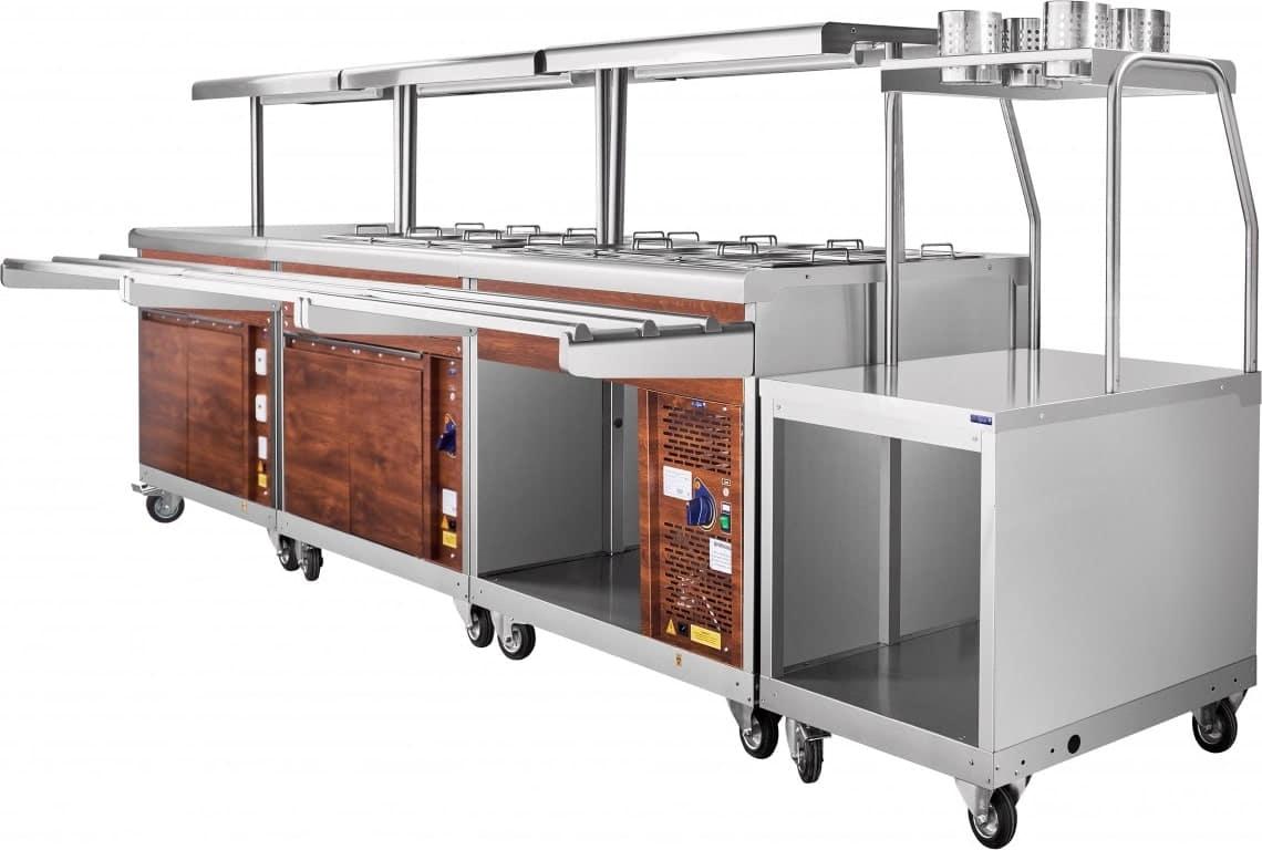 Прилавок для столовых приборов ABAT ПСП-70ПМ - 5