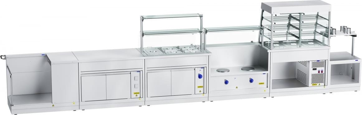 Холодильная витрина‑прилавок ABAT ПВВ(Н)-70Х-С-НШ - 5