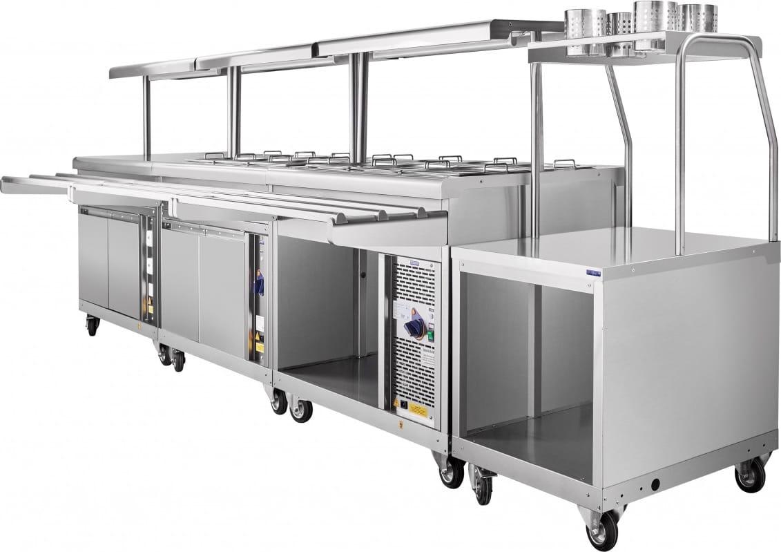 Прилавок для столовых приборов ABAT ПСП-70ПМ - 4
