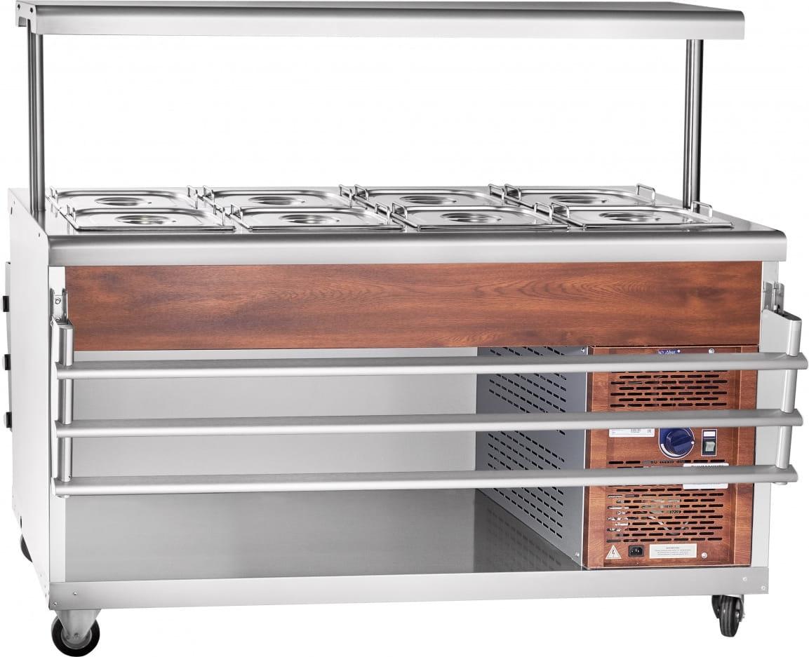 Холодильный прилавок ABAT ПВВ(Н)-70ПМ-01-НШ - 6