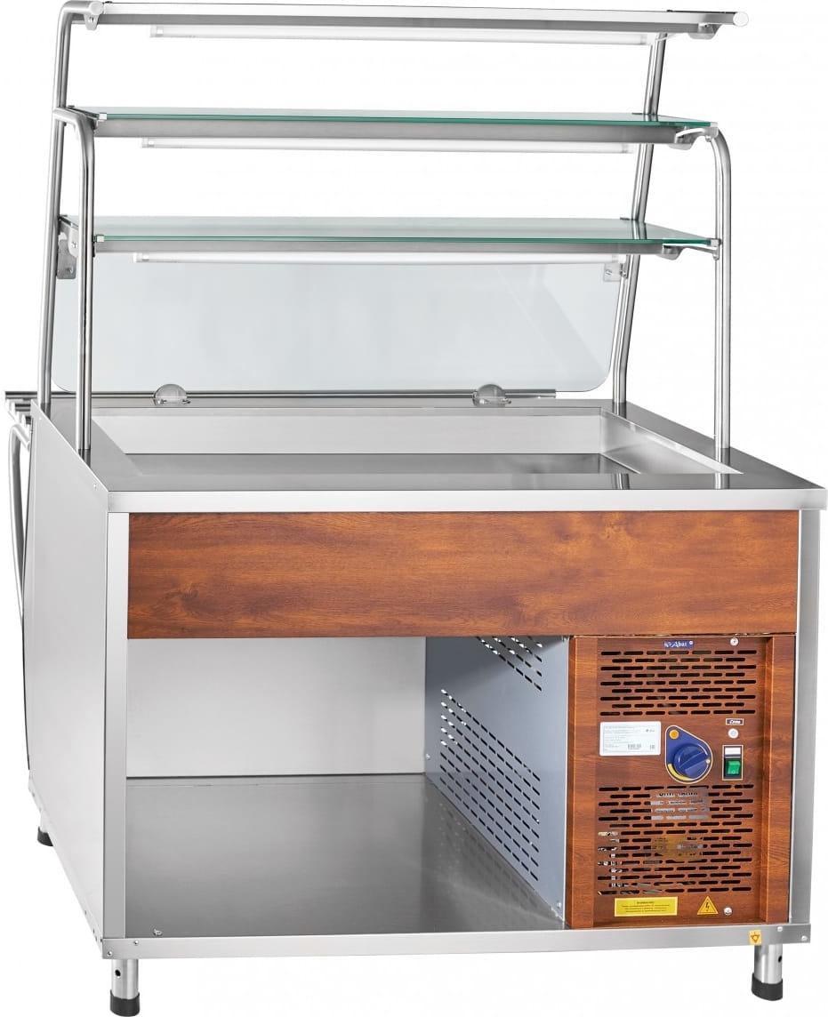 Холодильная витрина-прилавок ABATПВВ(Н)-70Т-НШ - 2