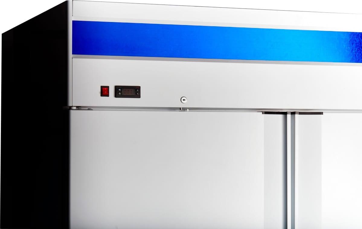 Морозильный шкаф ABATШХн-1,4-01нерж. (верхнийагрегат) - 2