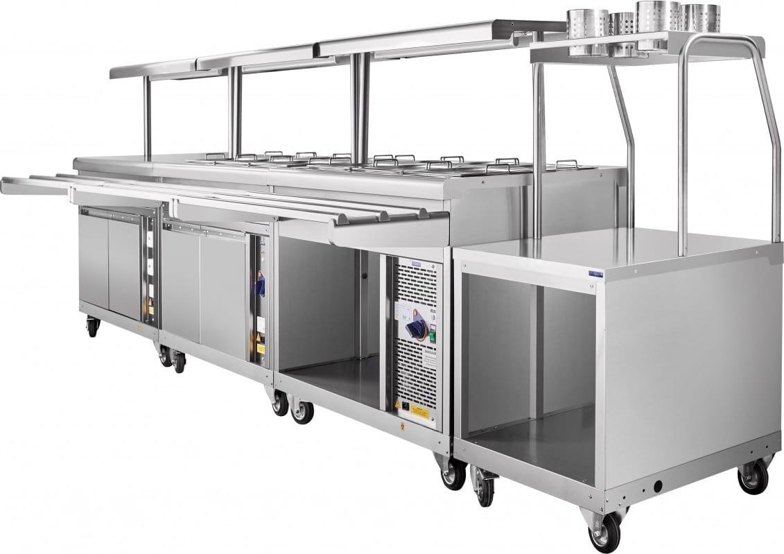 Холодильный прилавок ABAT ПВВ(Н)-70ПМ-НШ - 9