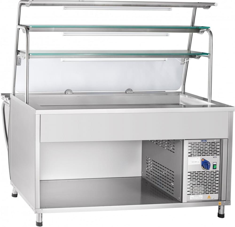 Холодильная витрина-прилавок ABATПВВ(Н)-70Т-01-НШ - 1