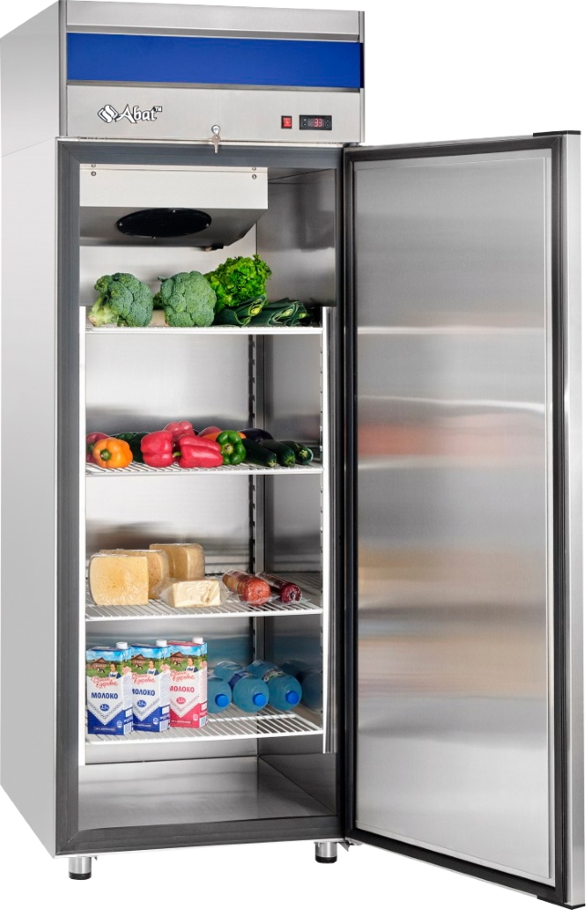 Холодильный шкаф ABATШХ-0,7-01нерж. (верхнийагрегат) - 2