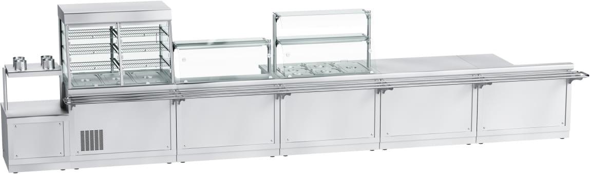 Тепловая витрина-прилавок ABATПВТ-70Х-03 - 5