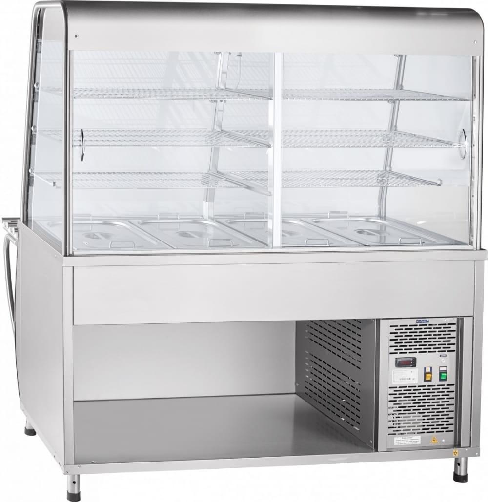 Холодильная витрина-прилавок ABATПВВ(Н)-70Т-С-01-НШ - 1