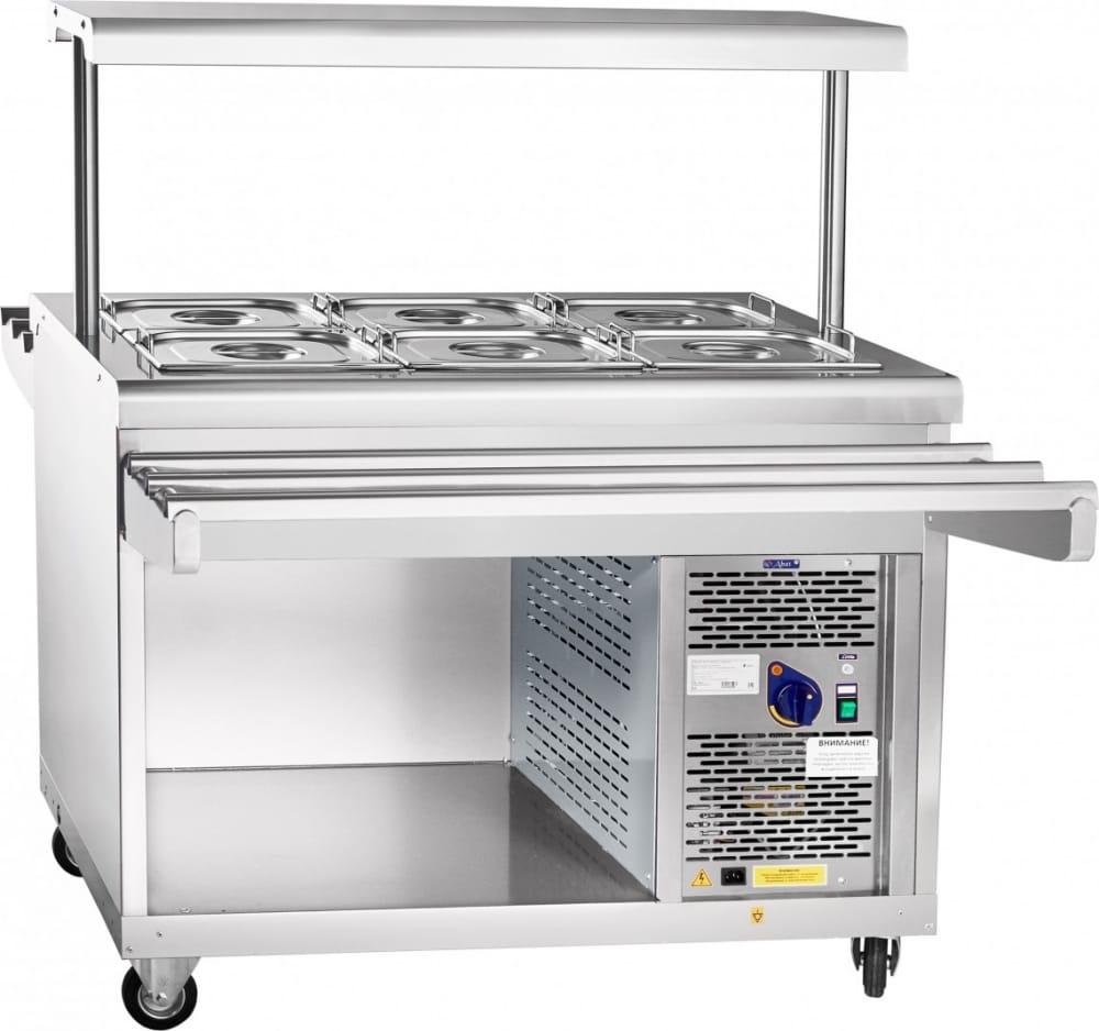 Холодильный прилавок ABAT ПВВ(Н)-70ПМ-НШ - 3