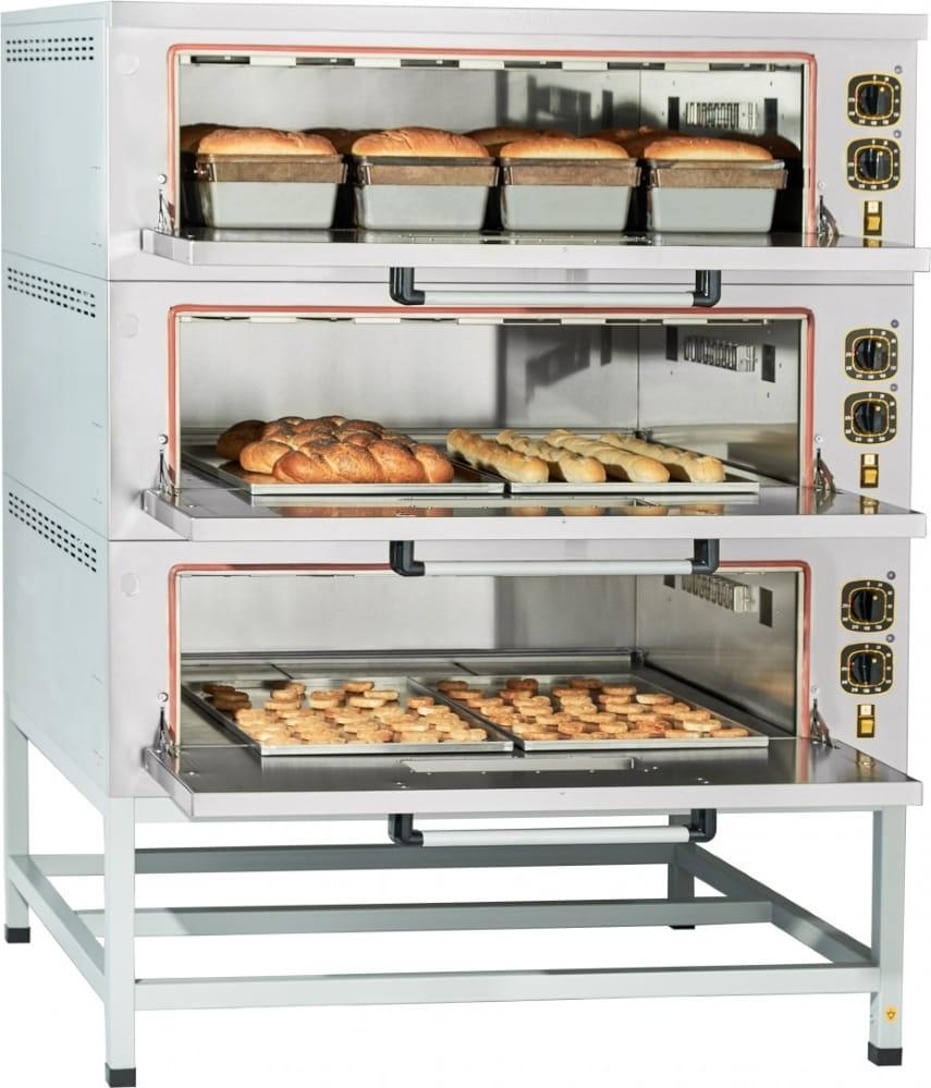 Подовый пекарский шкаф ABAT ЭШП-3-01 (270 °C) - 1