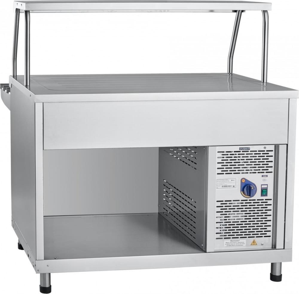 Холодильный прилавок ABAT ПВВ(Н)-70КМ-НШ - 1