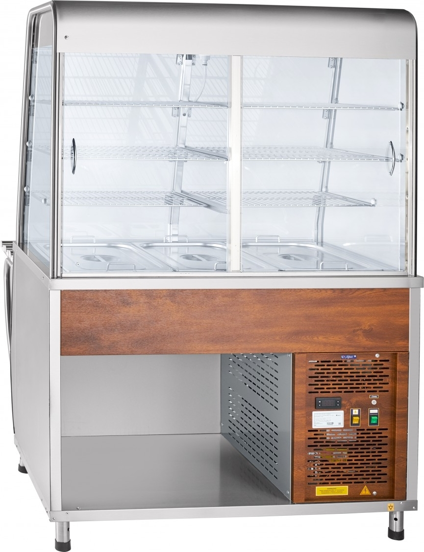 Холодильная витрина-прилавок ABATПВВ(Н)-70Т-С-НШ - 2