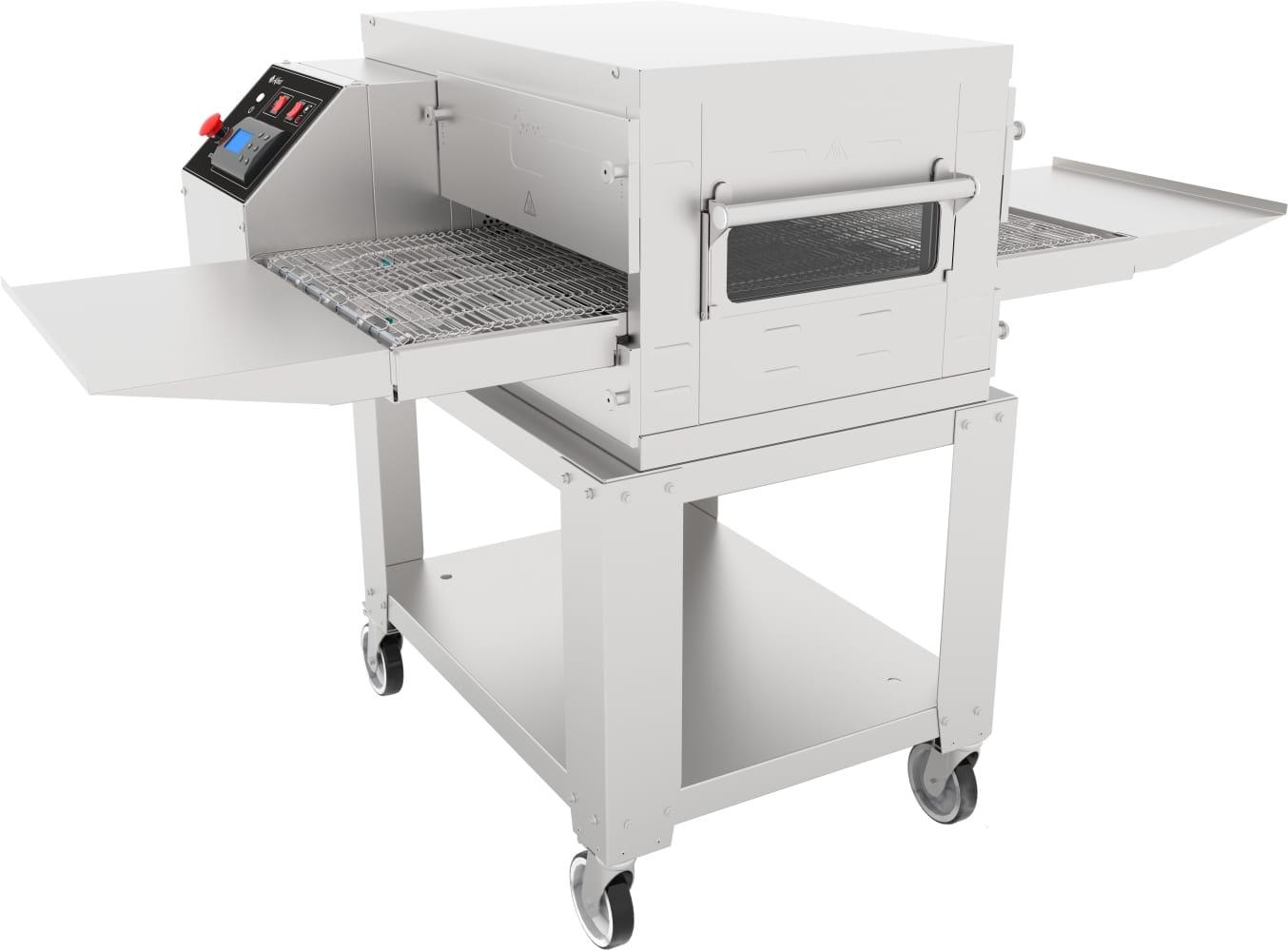 Печь для пиццы ABATПЭК-400 с дверцей безоснованияикрыши - 1