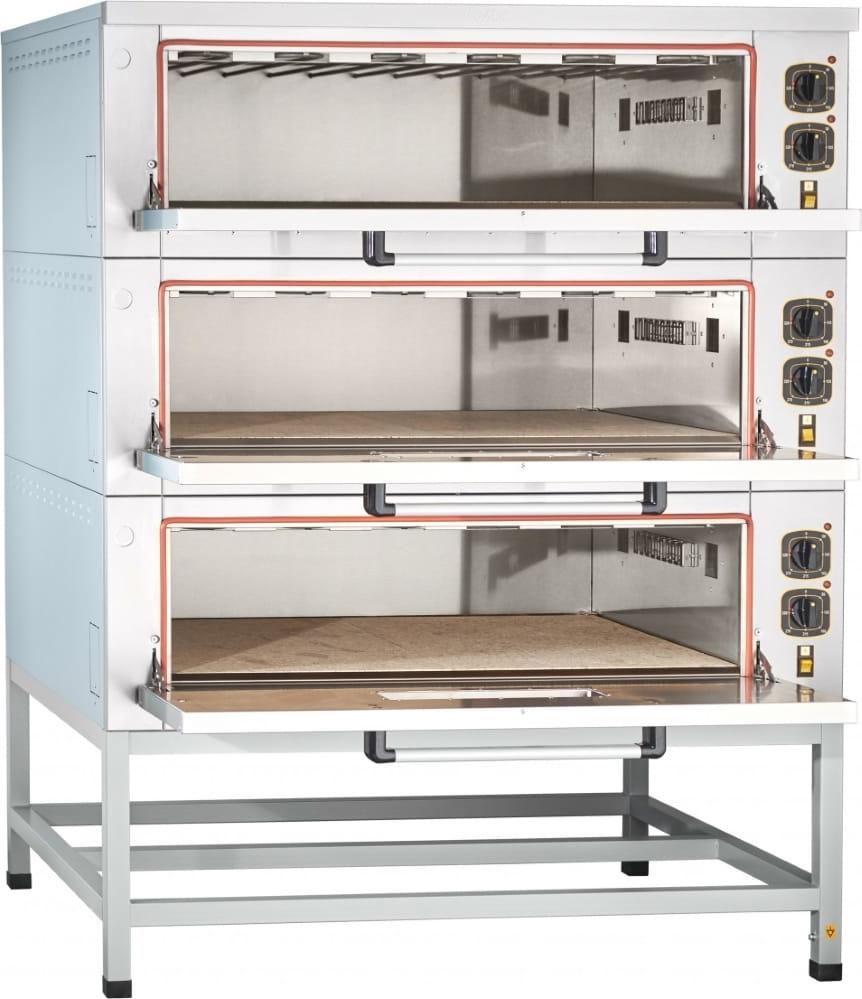 Подовый пекарский шкаф ABAT ЭШП-3-01КП (320 °C) - 1