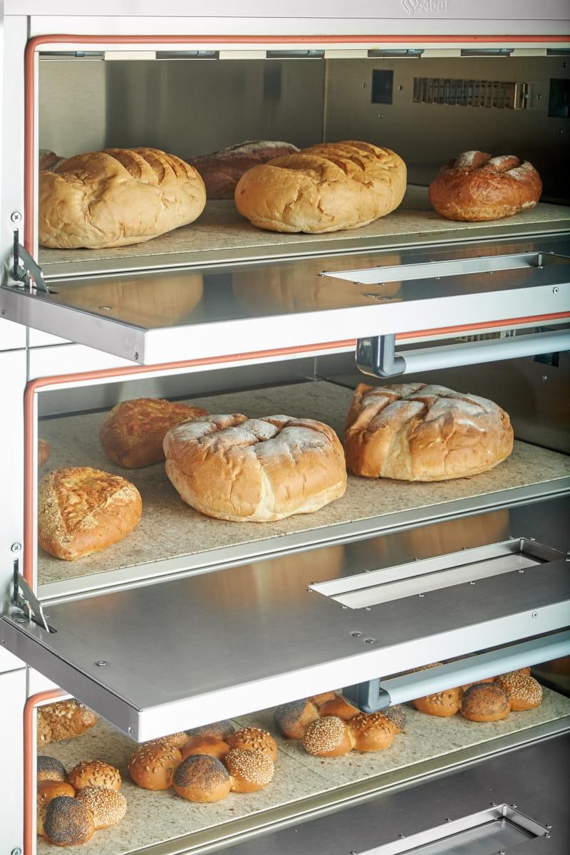 Подовый пекарский шкаф ABAT ЭШП-3-01КП (320 °C) - 4