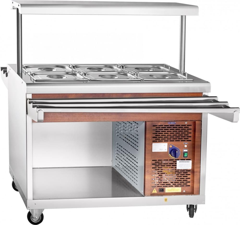 Холодильный прилавок ABAT ПВВ(Н)-70ПМ-НШ - 4