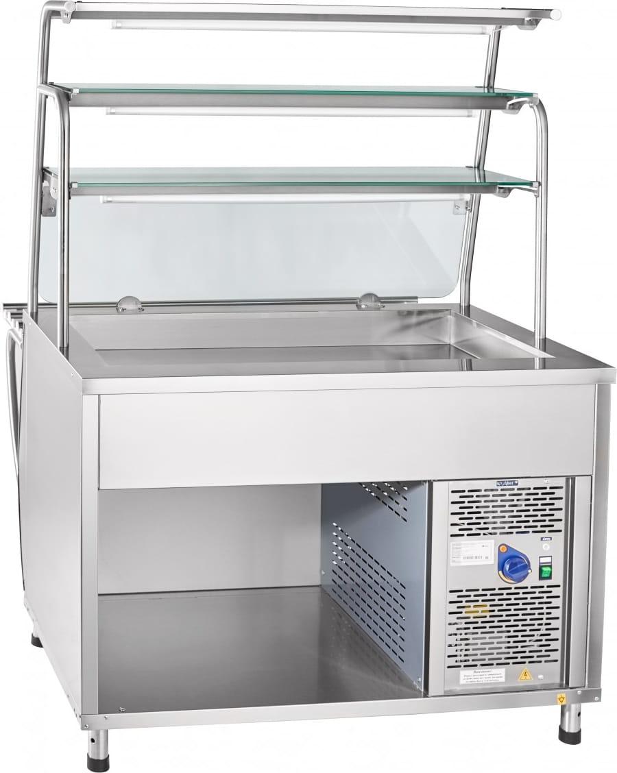 Холодильная витрина-прилавок ABATПВВ(Н)-70Т-НШ - 1
