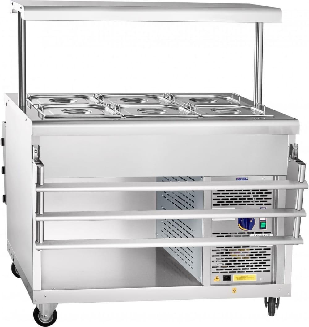 Холодильный прилавок ABAT ПВВ(Н)-70ПМ-НШ - 5
