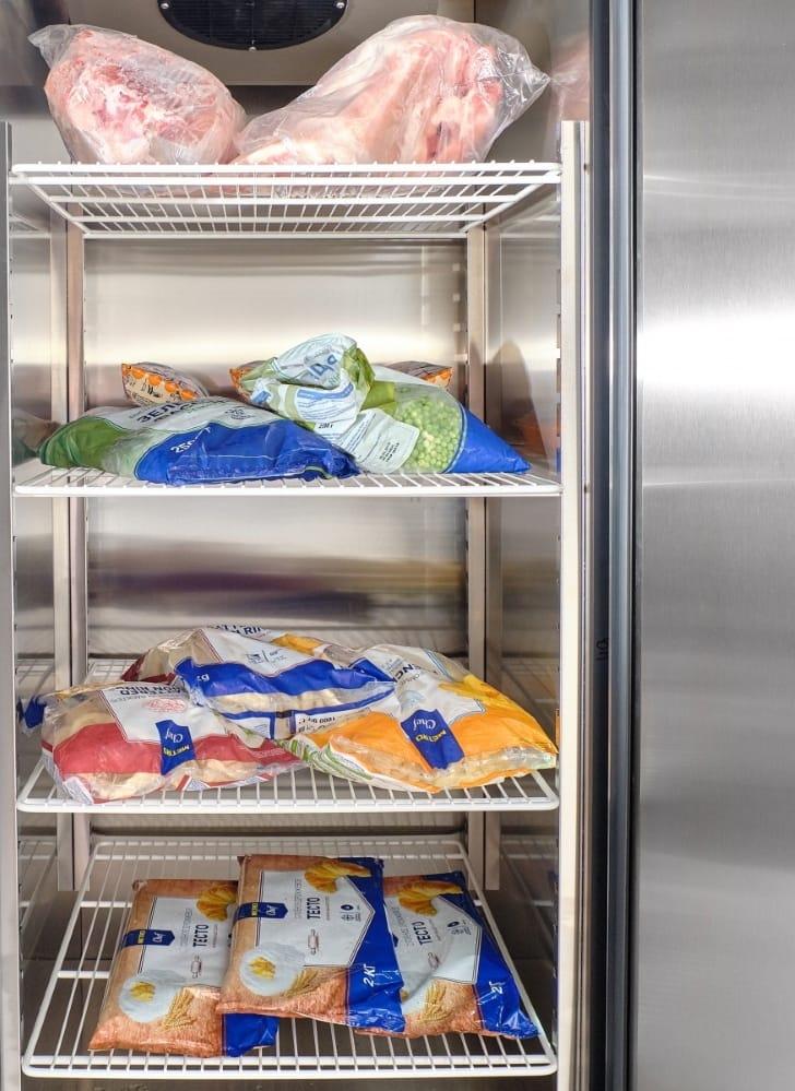 Морозильный шкаф ABATШХн-0,5-01нерж. (верхнийагрегат) - 4