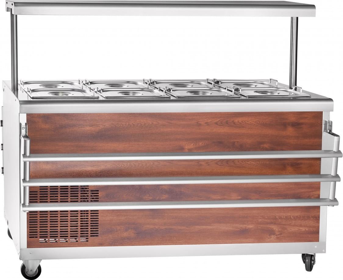 Холодильный прилавок ABAT ПВВ(Н)-70ПМ-01-НШ - 2