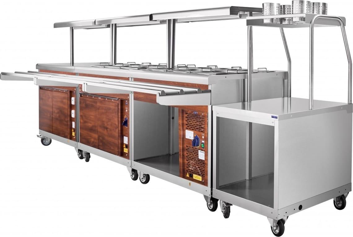 Холодильный прилавок ABAT ПВВ(Н)-70ПМ-НШ - 10