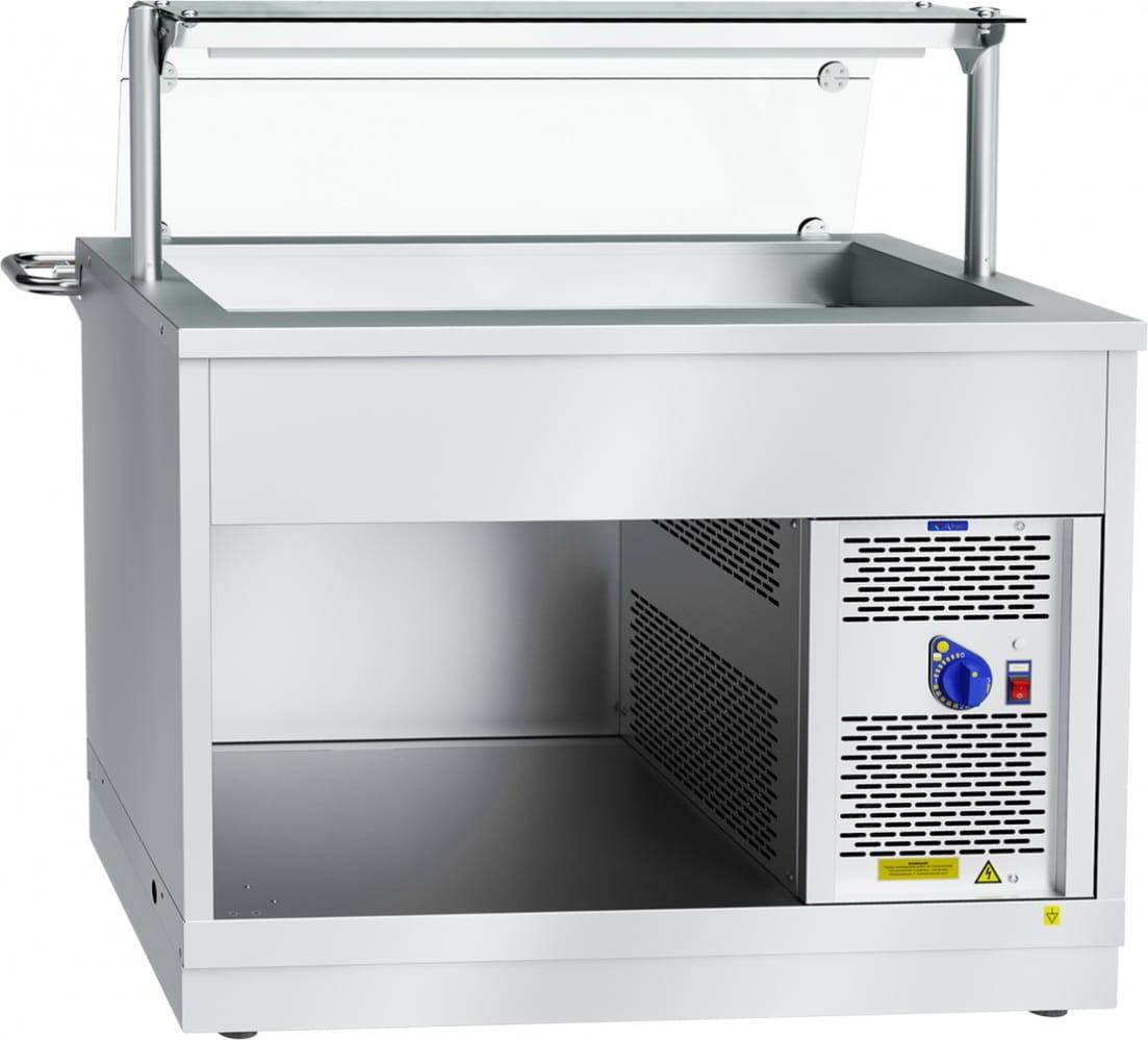 Холодильный прилавок ABAT ПВВ(Н)-70Х-НШ - 1