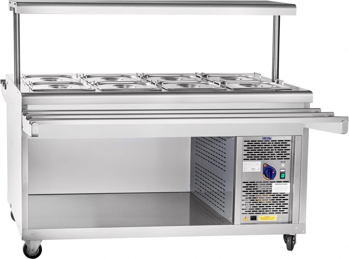Холодильный прилавок ABAT ПВВ(Н)-70ПМ-01-НШ - 3