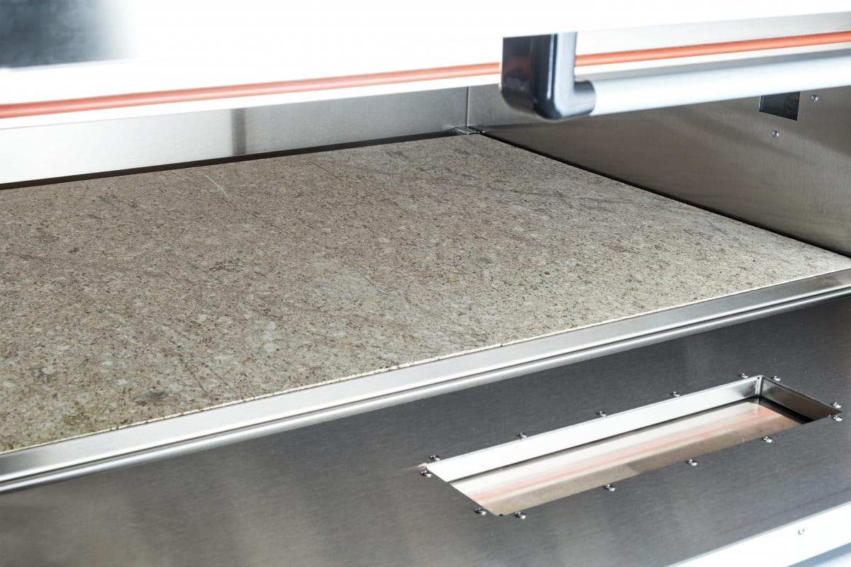 Подовый пекарский шкаф ABAT ЭШП-3-01КП (320 °C) - 3
