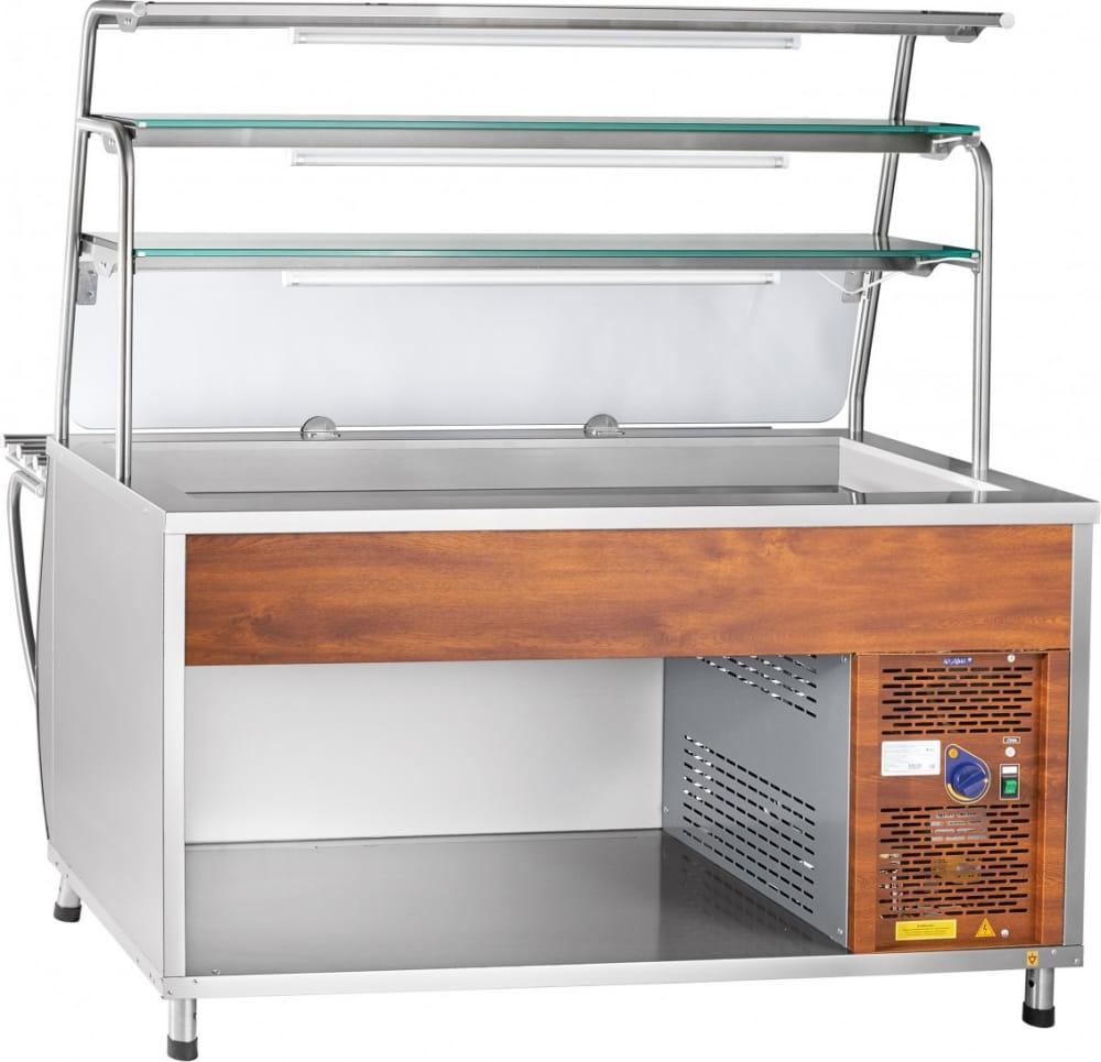 Холодильная витрина-прилавок ABATПВВ(Н)-70Т-01-НШ - 2