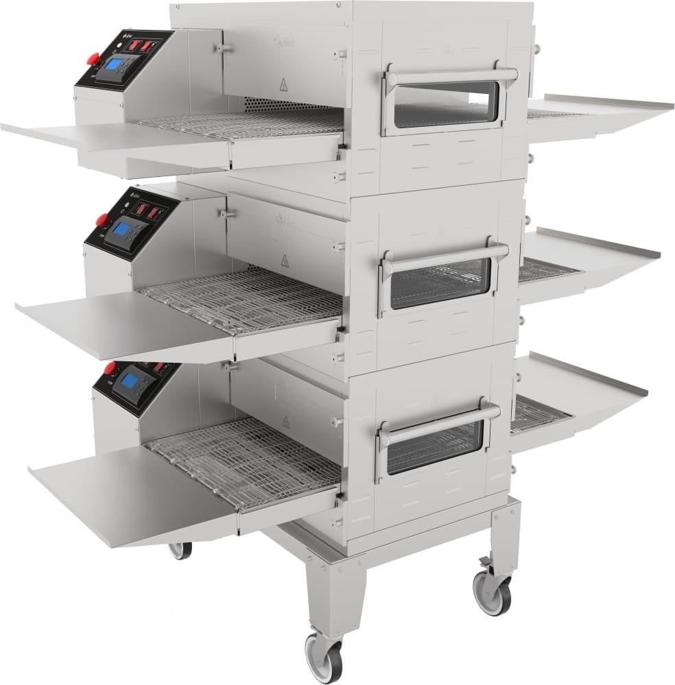 Печь для пиццы ABATПЭК-400 с дверцей безоснованияикрыши - 3