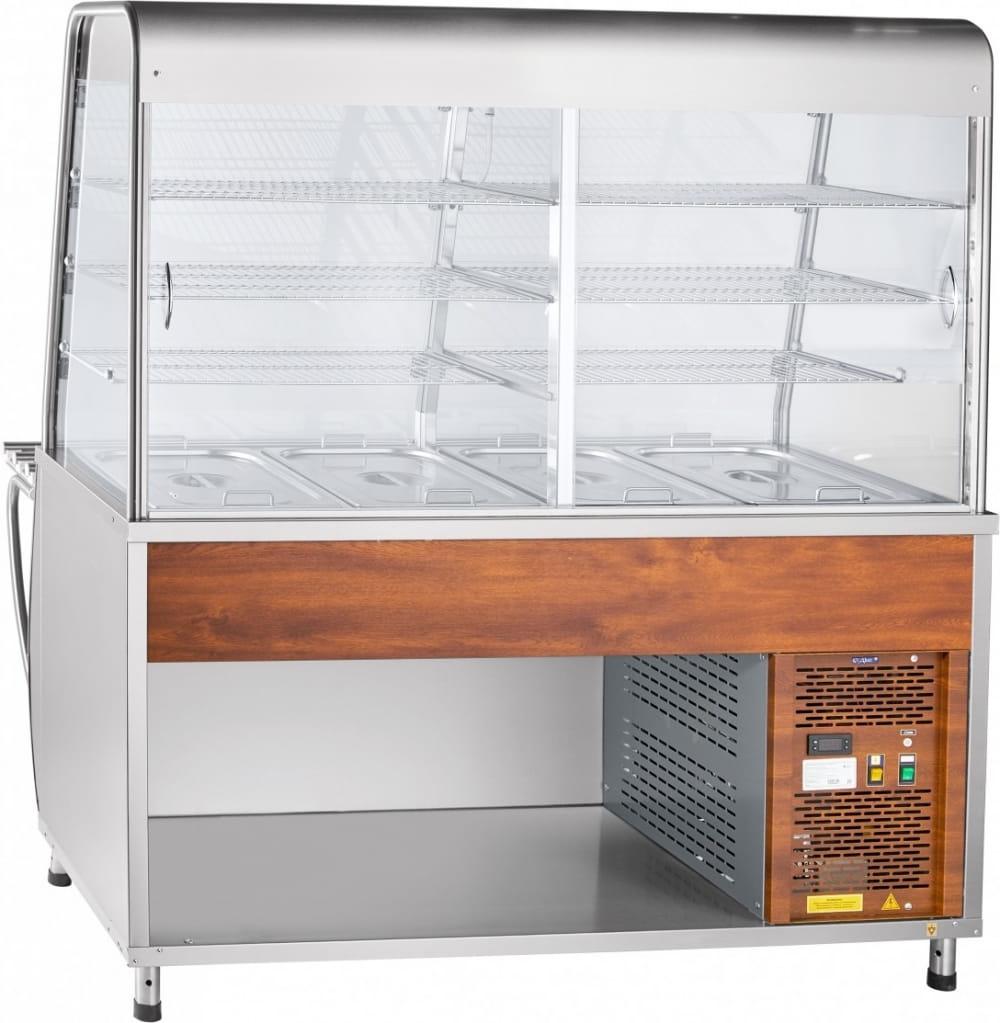 Холодильная витрина-прилавок ABATПВВ(Н)-70Т-С-01-НШ - 2