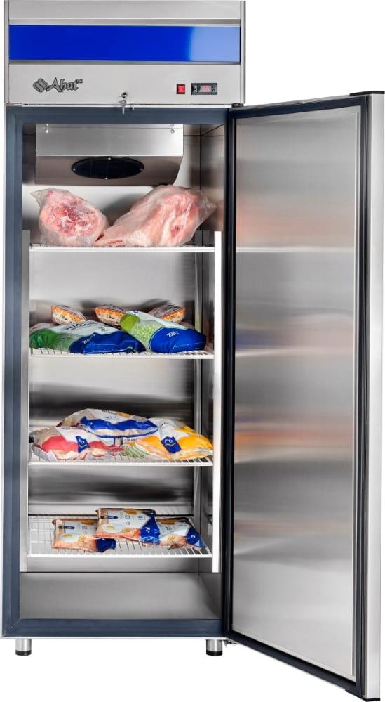 Морозильный шкаф ABATШХн-0,7-01нерж. (верхнийагрегат) - 3
