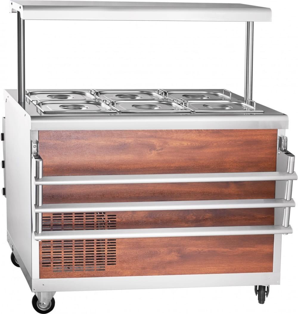Холодильный прилавок ABAT ПВВ(Н)-70ПМ-НШ - 2